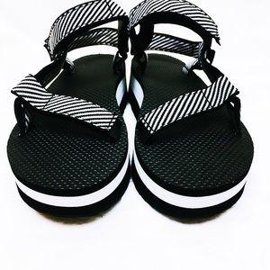 Teva Shoes - Teva Platform Universal Platform Sandal In Zebra